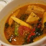 シシリアンルージュ札幌 - 豚バラ旬野菜のスープカレー