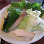 ヌルボンガーデン - 「焼野菜盛り」です。