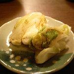 純一 - 白菜の漬物