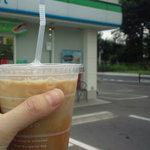 ファミリーマート - 料理写真:アイスコーヒーGET☆