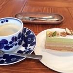 ホーム・スイート・ホーム野神店 - ケーキセット(300円+430円)