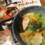 ラァメン トリイチ - 鶏白湯 ゆず ¥780