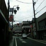 30144637 - 旧中仙道側から桶川駅東口を見る。