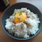 ながさわ - 煮干玉飯 250円