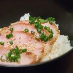 ロマン亭 - 燻製肉茶漬け