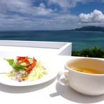 ベイベール - サラダとスープ