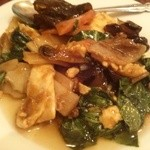 桂園 - キクラゲと豚肉炒め