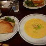 パパス カフェ - スープランチ