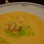 パパス カフェ - カボチャとキャベツのスープ