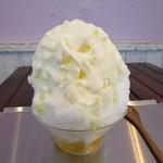 パティスリー ラ・グリシーヌ - かき氷 チーズ