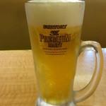 成葉軒 - 生ビール