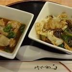 成葉軒 - 回鍋肉&鶏肉とフクロダケ炒め