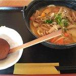3015639 - 味噌煮込みうどん(大盛り)