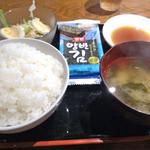 30155721 - ハラミ定食(830円)