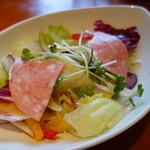 アンジェロビアンコ  - ランチはサラダかスープを選べます