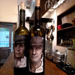 真夜中のバル - 面白いワイン☆ ぶどうの樹齢を栽培者の写真で表現