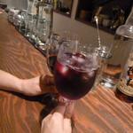 真夜中のバル - ワインとキールでカンパーイ☆