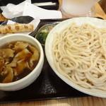30159042 - 肉汁うどん(並)&ちくわ天