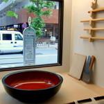 ぢゅるり - 麺打ち場