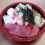 宇多美寿司 - 100114 4点盛り