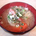 宇多美寿司 - 100114 味噌汁