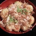 OKINA - 料理写真:しょうゆ たこ焼き 15個 580円