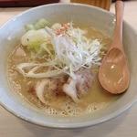 真道 - 鶏チャらーめん(750円)