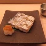 鮨 生粋 - 太刀魚の付け焼き