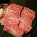 覚王 - 特選上カルビ 1,880円×2