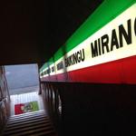 スパゲッ亭チャオ - 2階に続く階段…イタリア〜ン(^ ^)