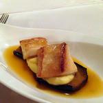 ヴェルデ辻甚 - 近海産白身魚のソテー ブイヤベースソースを添えて