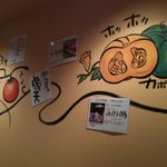 四ツ谷胡桃屋 - 壁画