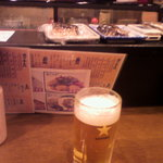 呑舟 - 生ビール♪