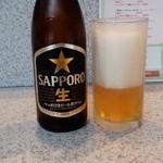 えんころ - とりびーは瓶ビールで(サッポロ黒生)