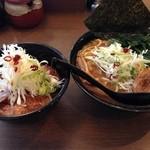 らぁ麺 はせ川 - らぁ麺&あぶりチャーシュー丼