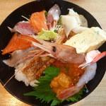 市場のすしや - スペシャル感謝丼(1,500円)