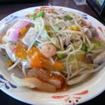 リンガーハット - スナック皿うどん453円