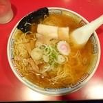 かもめ食堂 - 2014.8.26 気仙沼ラーメン醤油味 830円