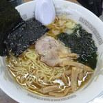 松島さかな市場 - 普通の醤油ラーメン