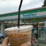 ファミリーマート - 料理写真:アイスコーヒGET☆