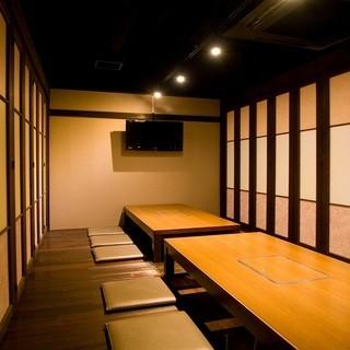 「和」空間の個室◎モニター完備◎