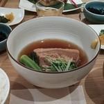 ラハン - 豚の角煮定食