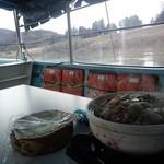 阿武隈ライン舟下り - 料理写真:しし鍋