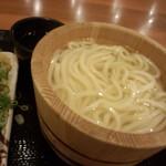 丸亀製麺 - 釜揚げうどん(並)280円(2014.08.25)
