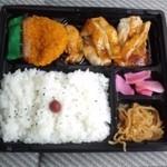 新松 - 鳥照り焼弁当(14.08.27)