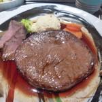 たかみ牧場 - 料理写真:ステーキ定食