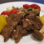 30176864 - 牛肉のオイスターソース炒め
