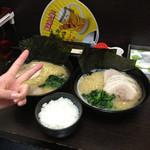 いち家 - チャーシュー麺 ライス 醤油ラーメン 味玉