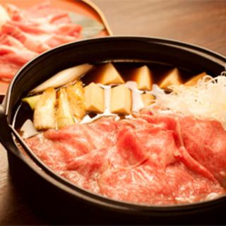 季節薫る旬の創作和食の琉球すきしゃぶコース
