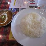 インドネパール料理 ミトチャ - マトンカレーとライス